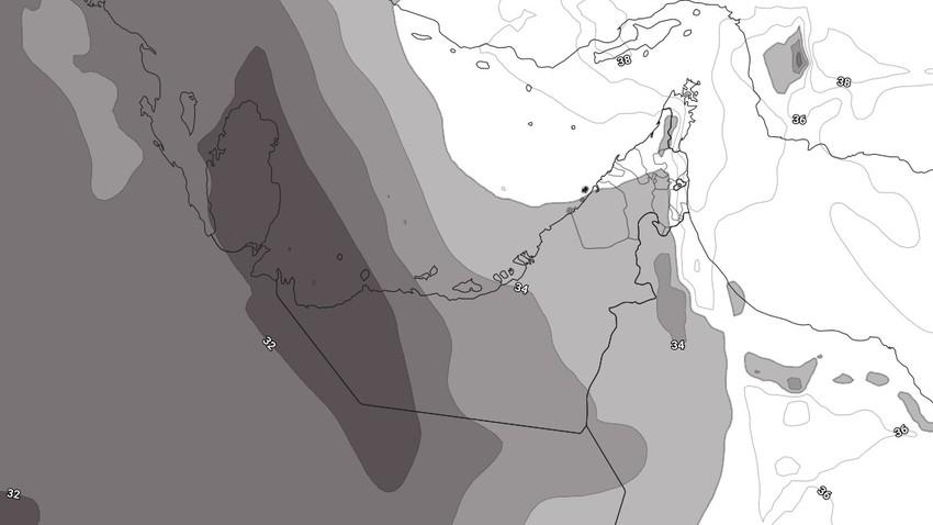 النشرة الأسبوعية للإمارات | أسبوع لاهب ودرجات الحرارة حول الـ 50 مئوية مع إشتداد على سرعة الرياح الشمالية الغربية