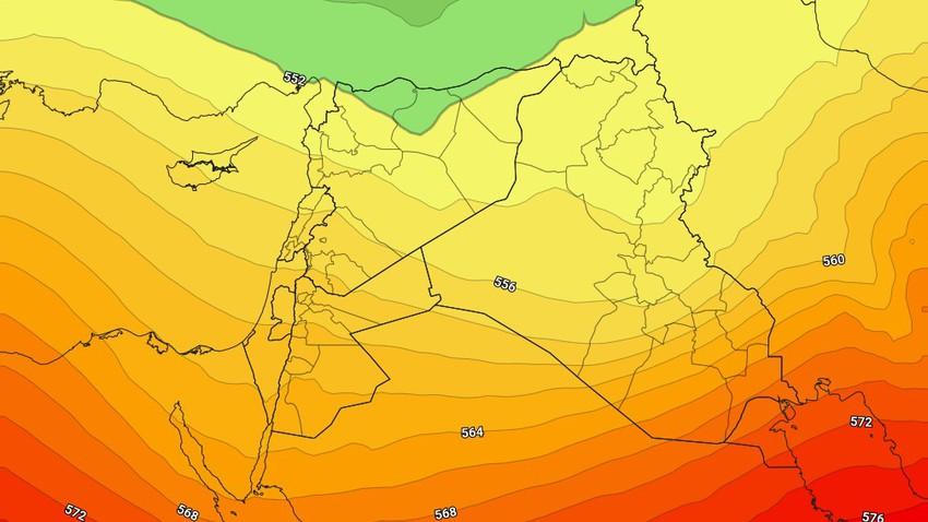 العراق | مؤشرات على احوال جوية غير مُستقرة تؤثر على البلاد إعتباراً من الخميس