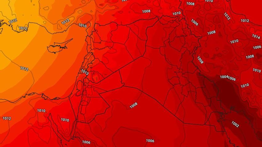 النشرة الأسبوعية للعراق | عودة درجات الحرارة للإرتفاع من جديد مع استمرار نشاط الرياح الشمالية الغربية