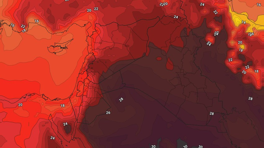 Jordan | Weather forecast during the blessed Eid Al-Fitr period