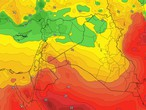 Jordan | Cold weather at the beginning of the week and a significant rise in degrees starting from Tuesday