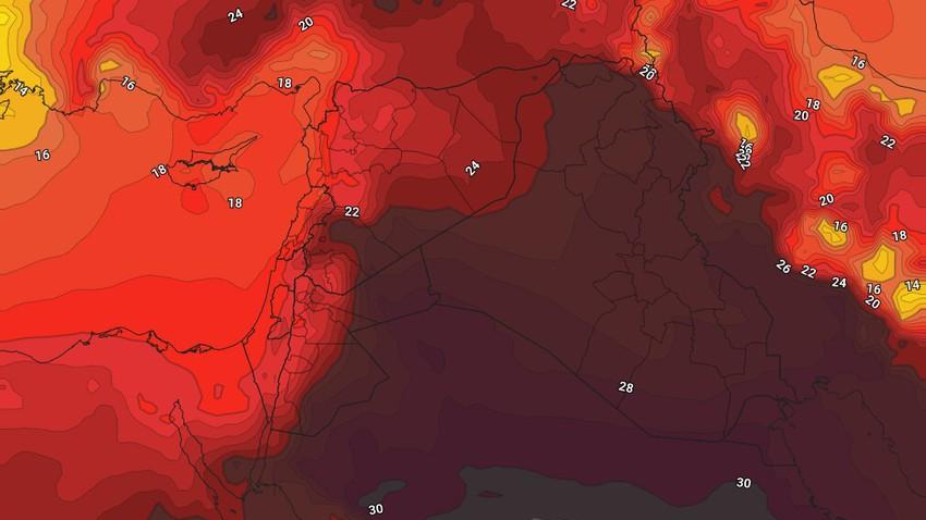 Iraq   Weather forecast during Eid Al-Fitr