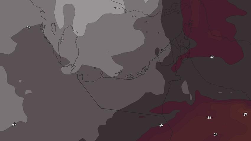 النشرة الأسبوعية للإمارات | طقس شديد الحرارة والأمطار الرعدية مُستمرة على بعض المناطق