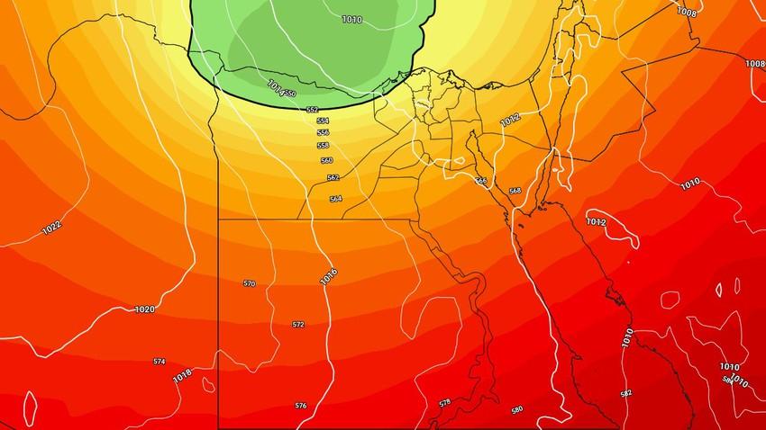 النشرة الأسبوعية - مصر | اجواء اكثر إعتدالاً ومؤشرات على حالة من عدم الاستقرار الجوي بعد مُنتصف الأسبوع