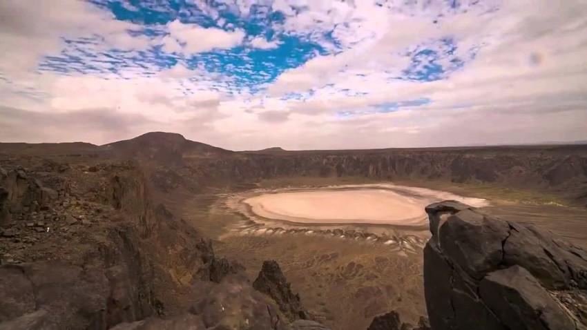 تستوعب حوالي 190 ملعبا رياضيا أو أكثر من 170 ألف سيارة! فوهة بركان الوعبة الأضخم في السعودية
