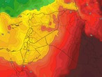 الأردن | الأجواء الحارة نسبياً مستمرة حتى الثلاثاء وتغييرات مُرتقبة على الأجواء إعتباراً من الأربعاء