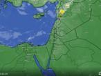 الأردن - تحديث الساعة 01.00 بعد منتصف الليل | امطار غزيرة على اجزاء من المناطق الشمالية