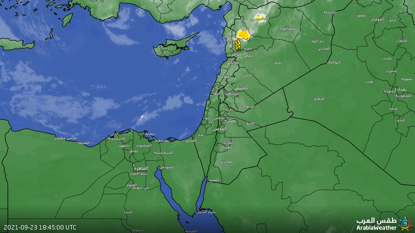 Jordan - Update at 01.00 am   Heavy rains in parts of the northern regions