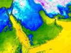 أسبوعية السعودية | بداية أسبوع مستقرة وموجة برد شديدة اعتباراً من مساء الاربعاء