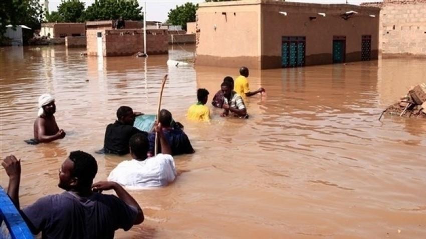 بعد موجة الفيضانات .. 22 قتيل بحمى الوادي المتصدع بالسودان وسط مخاوف من تفشي المرض