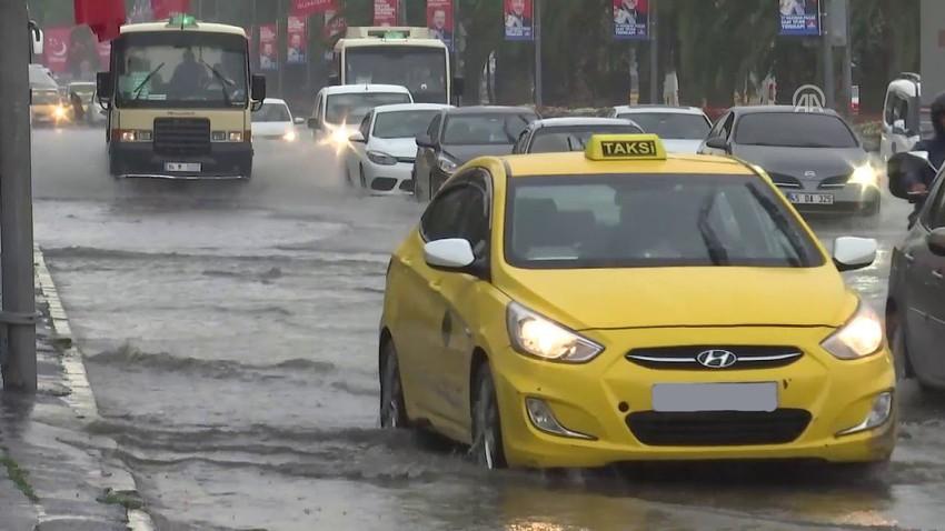 الخميس | اسطنبول على موعد مع امطار غزيرة وتحذير من السيول