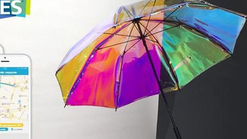 ابتكار مظلة تخبرك بهطول المطر قبل 15 دقيقة من نزوله