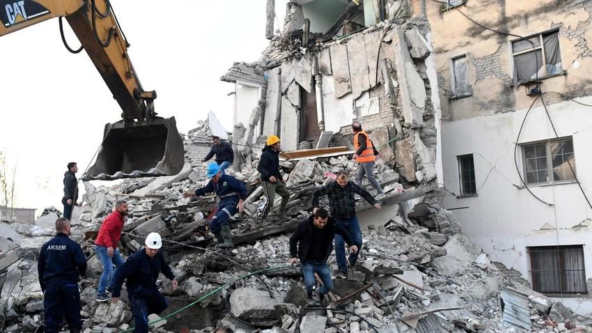 Albania: earthquake death toll rises to 25, rescue work continues