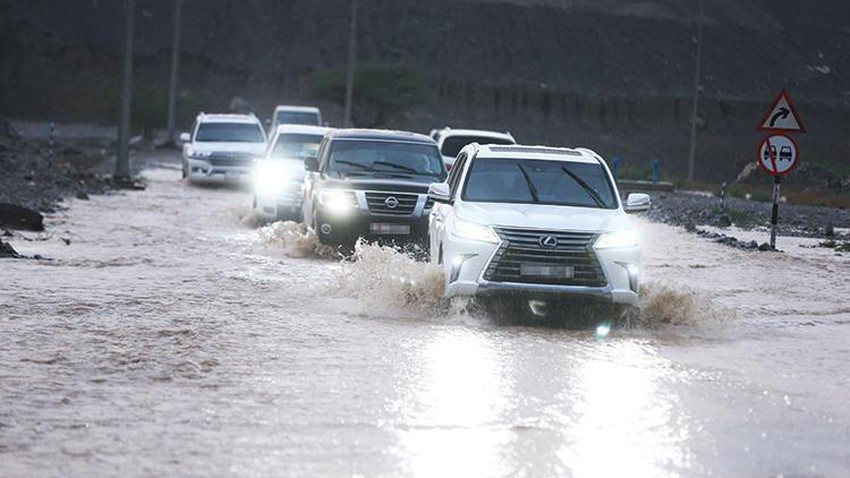 Emirates | Rain opportunities increase in some regions of the country in the coming days