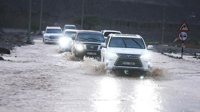 الإمارات | تزايد فرص الأمطار في بعض مناطق الدولة الأيام القادمة