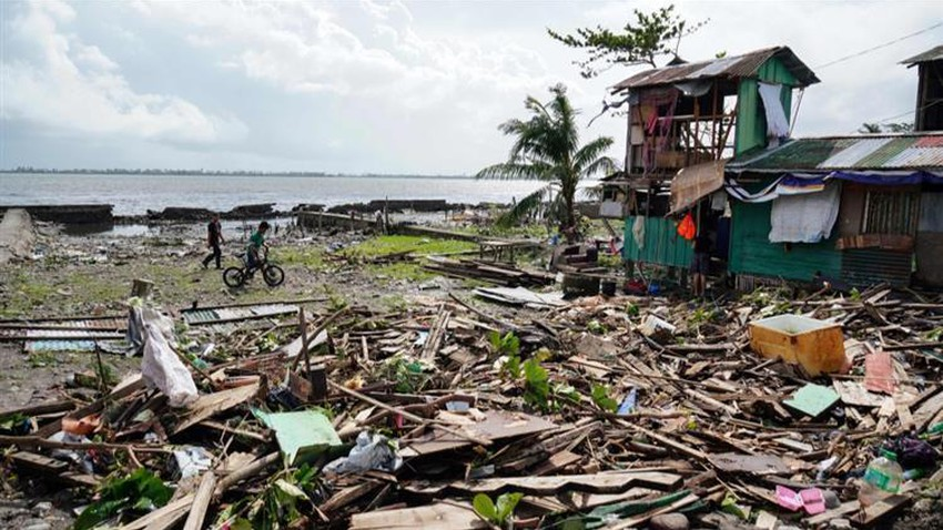 Typhoon Fanfon leaves 41 deaths in the Philippines