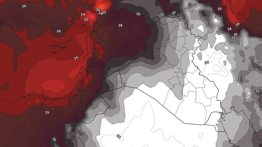 النشرة الأسبوعية للكويت | اشتداد واضح على وطأة الحر ودرجات الحرارة تقترب من الـ 50 في بعض المناطق