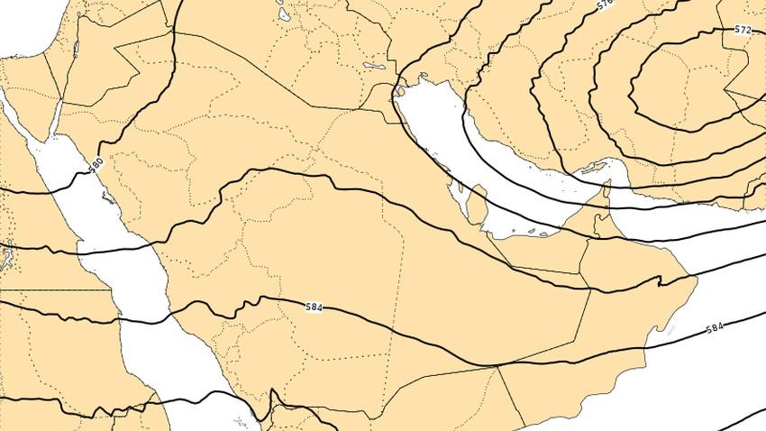 توقعات تفصيلية لـ أخدود الحيا على عمان والإمارات