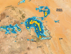 Update 4:30 pm | Rain, thunderstorms heading towards Buraydah and Al-Qassim