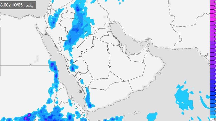 السعودية | النماذج العددية تُبشر .. بواكير الوسم تبدأ مطلع أكتوبر والأمطار من الشمال إلى الجنوب