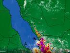 تحديث 3:00م | الأقمار الإصطناعية ترصد سُحب رعدية وأمطار تؤثر الآن على مرتفعات جازان وعسير
