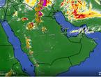 تحديث 4:45م | سُحب رعدية وأمطار غزيرة تؤثر على أجزاء من حائل والقصيم