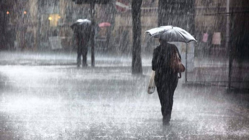 Heavy rain expected in northern Syria and northern Iraq