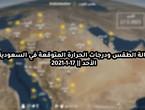 حالة الطقس ودرجات الحرارة المتوقعة في السعودية يوم الأحد 17-1-2021