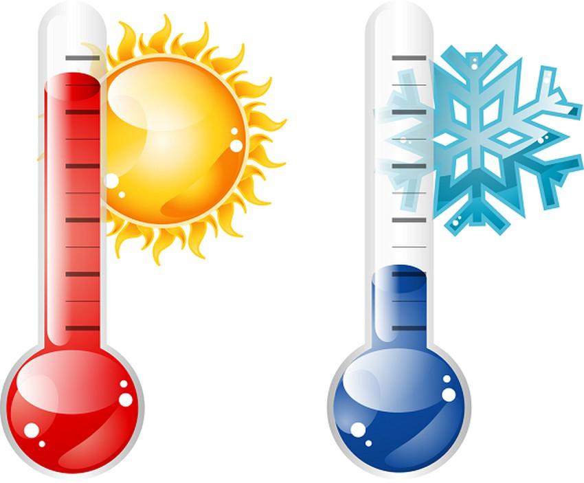 ما التغيرات التي تحدث على درجة الحرارة ؟   طقس العرب