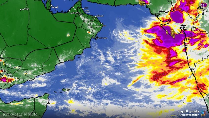 عاجل | الأرصاد العُمانية تُصدر البيان رقم 1 حول الحالة المدارية في بحر العرب