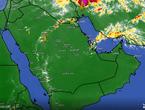 تحديث 3:30م | بدء نشاط السُحب الرعدية الماطرة في منطقة حائل وهذه هي التوقعات للساعات القادمة