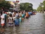 الهند | الموجة الثالثة من الفيضانات تؤثر على 300 ألف شخص في 13 منطقة