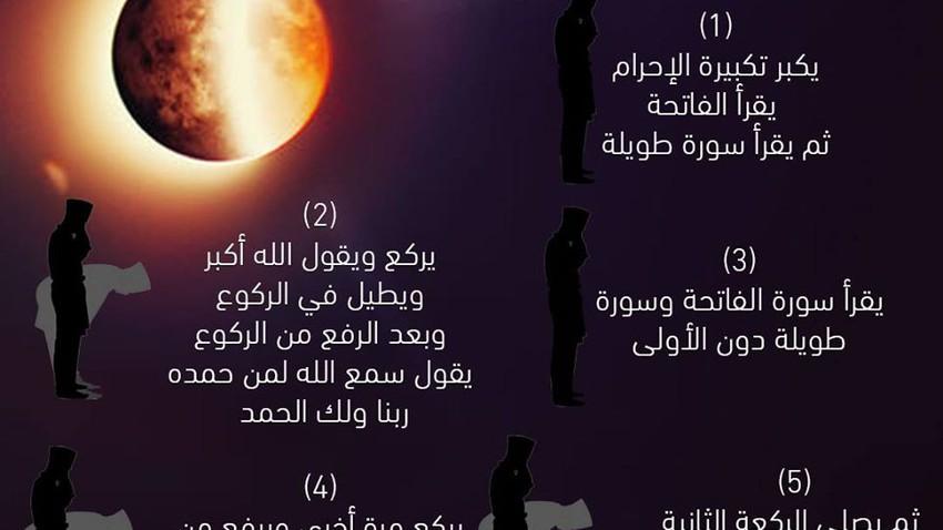صلاة كسوف الشمس .. سنة نبوية مؤكدة وهكذا تُصلى