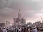 امطار رعدية متوقعة على منطقة المشاعر المقدسة ايام العيد