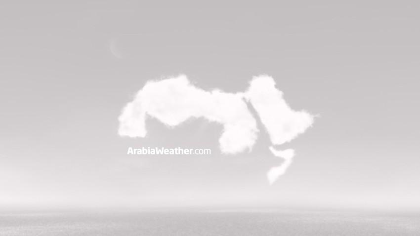 العاصفة الرملية تؤثر على ايران وعمان واليمن