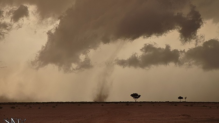 الأرصاد العمانية تعلن تراجع شدة الحالة الماطرة في بحر العرب
