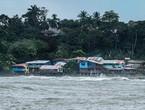الإعصار أوتو يجتاح نيكاراجوا وكوستاريكا