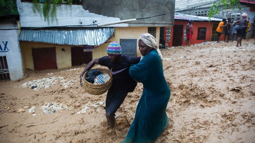 Tropical Storm Laura has killed at least 11 people in the Dominican Republic and Haiti