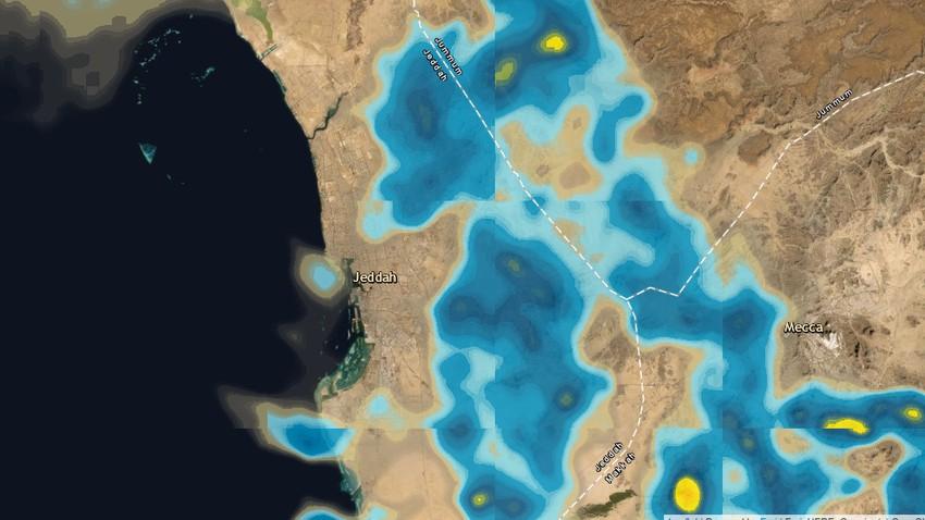 جدة الآن - 10:10م | أمطار محتملة في أجزاء متفرقة بعد قليل