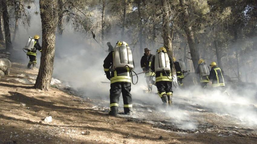 الدفاع المدني يتعامل مع 240 حريقا خلال 24 ساعة