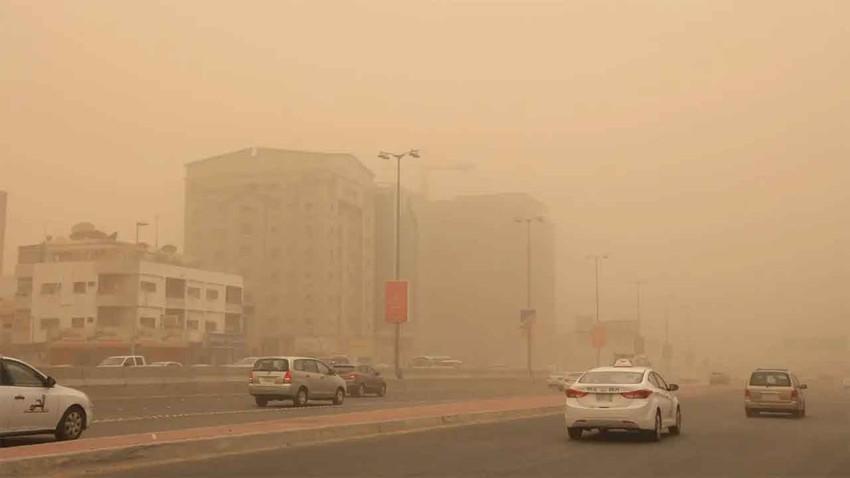 السعودية | البوارح تشتد في شرق السعودية وتنبيه من تزايد تركيز الغبار في الأجواء يوم الخميس