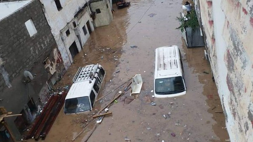 Yemen | 35 thousand Yemeni families were affected by the torrential rains