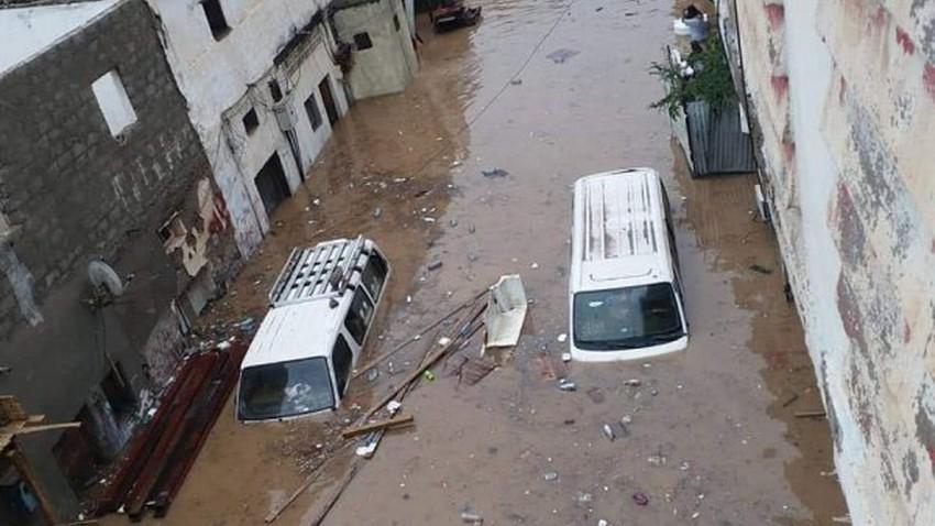 اليمن |  35 ألف أسرة يمنية تضررت بسبب سيول الأمطار