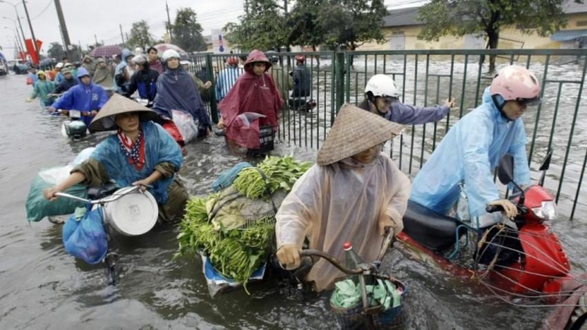 7 وفيات اثر فيضانات جديدة وسط فيتنام