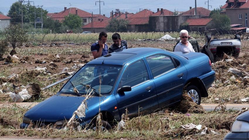 وفاة 21 شخصا في سيول بمقدونيا وإعلان حالة الطوارئ