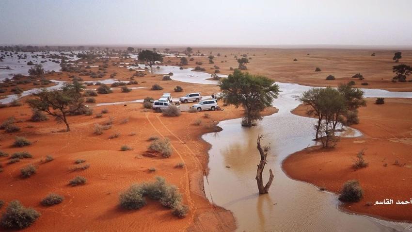 بالفيديو   هُطول مميز لأمطار الخير على جنوب الرياض صباح الثلاثاء