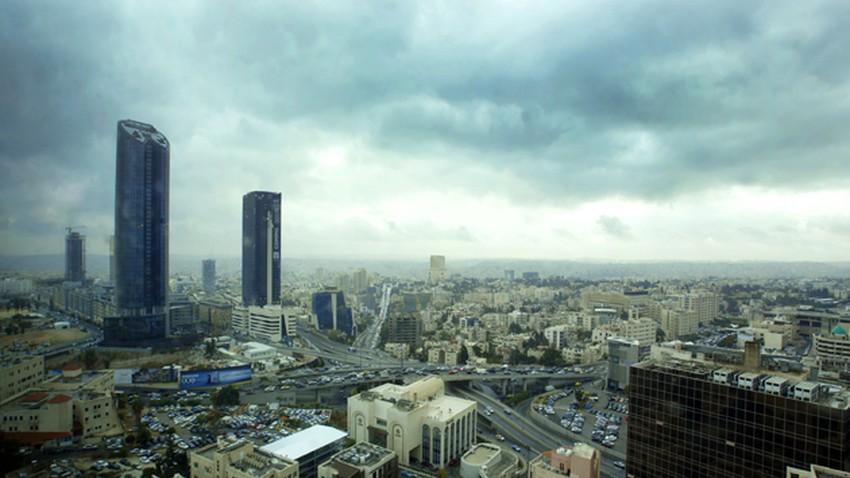 الأردن | كتلة هوائية باردة وزخات من المطر اعتباراً من مساء الأربعاء