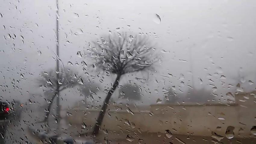 إيواء 23 عائلة في أم الجمال بسبب الأمطار