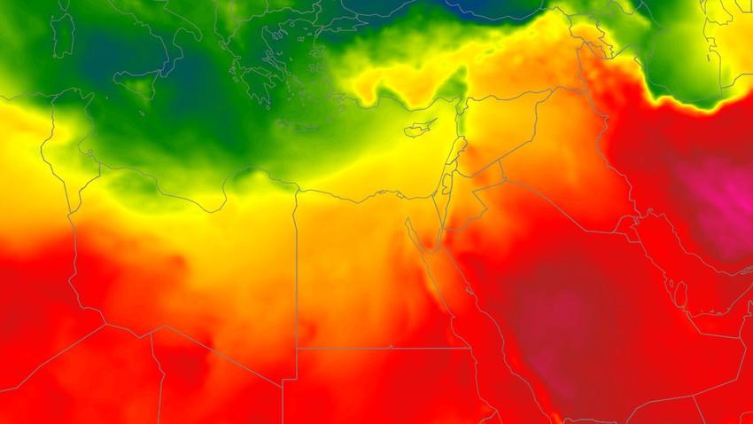 مصر | ارتفاع ملموس على الحرارة والقاهرة تلامس الـ 40 مئوية الأربعاء