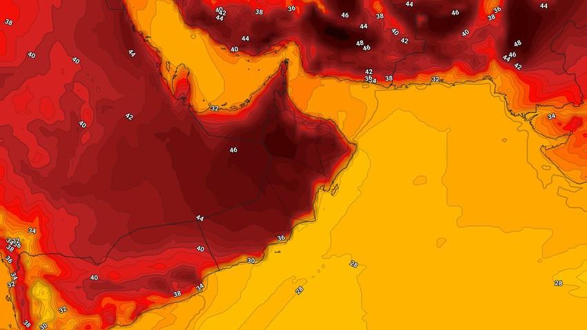 سلطنة عُمان | اشتداد وطأة الحر واستمرار فُرص الأمطار في بعض المناطق خلال عطلة نهاية الأسبوع